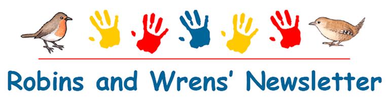 Robin and Wrens' newsletter header