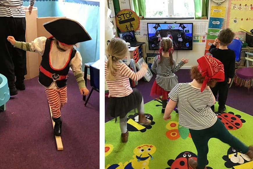 Pirate Day in Nursery