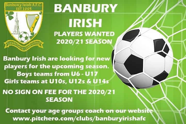 Banbury Irish poster July 20
