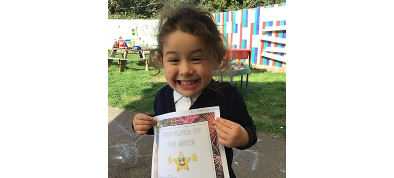 Nursery High Flyer of the week