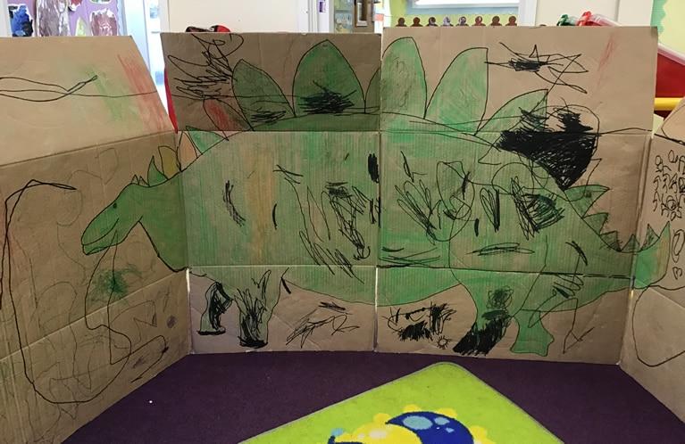 Nursery dinosaur picture