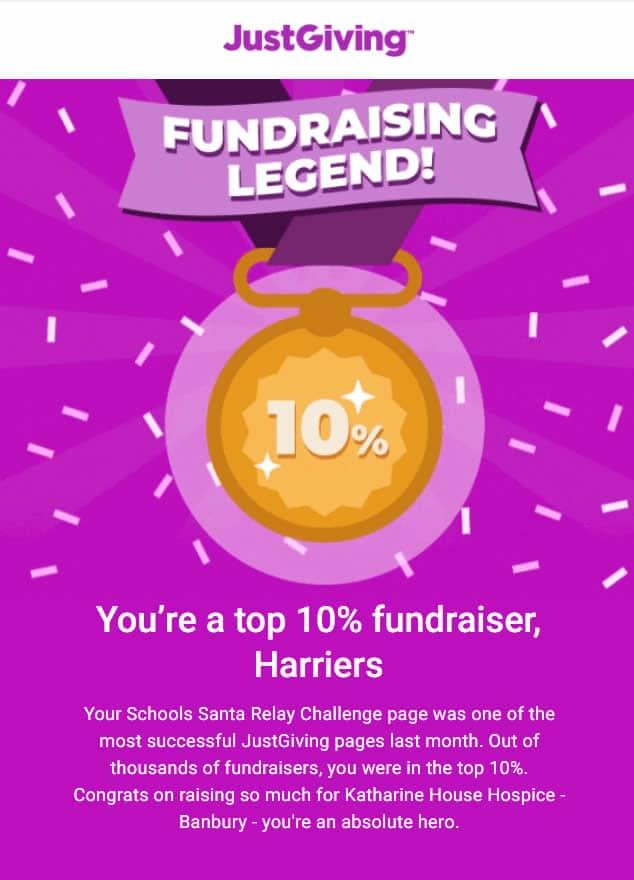 Fundraising Legend poster
