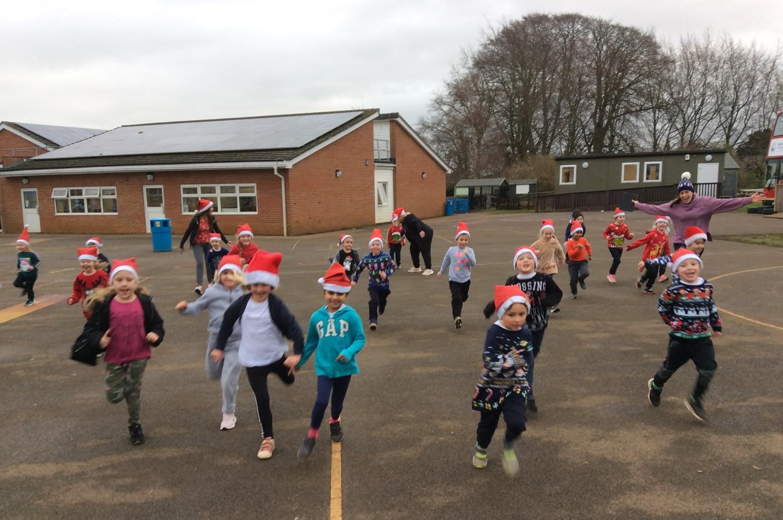 Santa relay