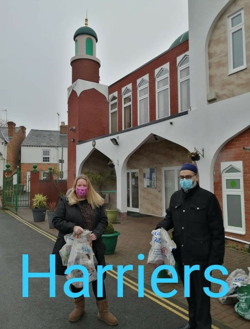 Mrs Agate at the Banbury Mosque