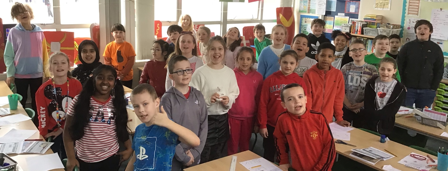 Pelicans class on Red Nose Day