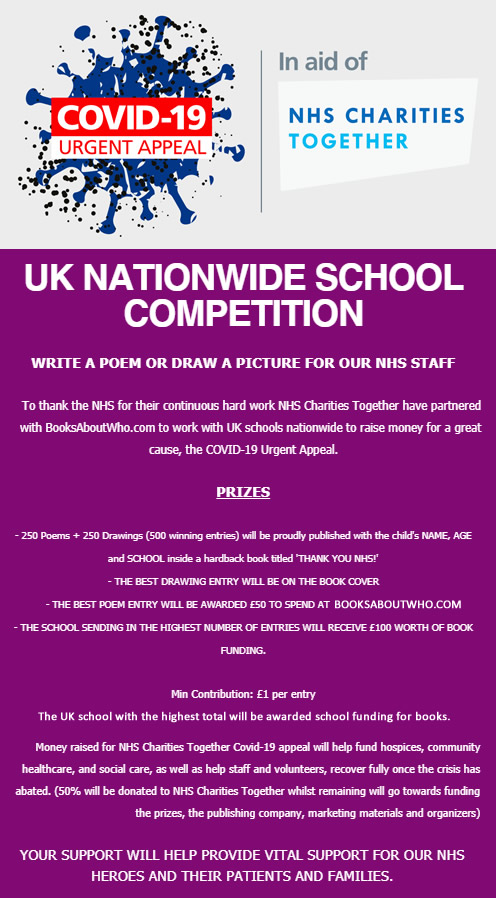 UK Nationwide schools campaign poster