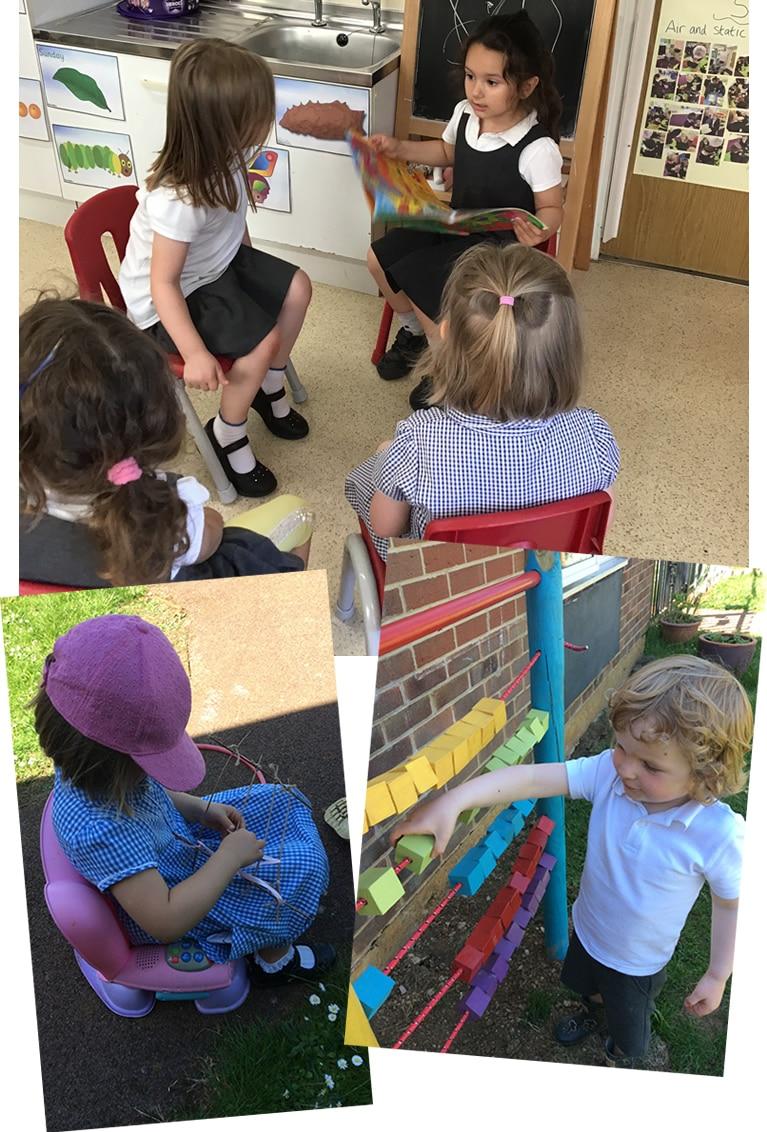 Nursery pictures Term 6 week 1