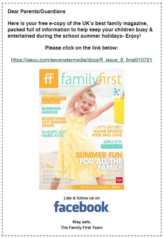 Family First ad