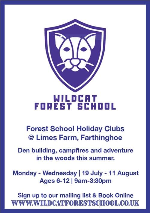Wildcat Forest School poster